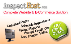 Inspecthost Website (Free Trial Signup)
